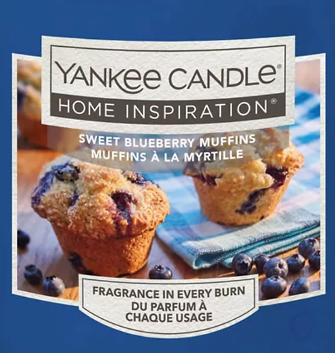 Sweet Blueberry Muffins Yankee Candle Wax Crumble Pot 22g