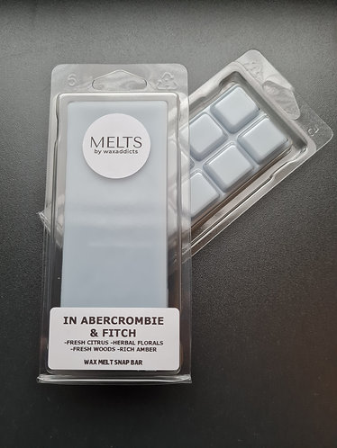 In Abercrombie and Fitch Wax Melt Snap Bar by Wax Addicts
