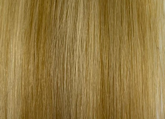"""18"""" Luxury Clip Ins #LL09 Light ash blonde mix with lighest brown"""