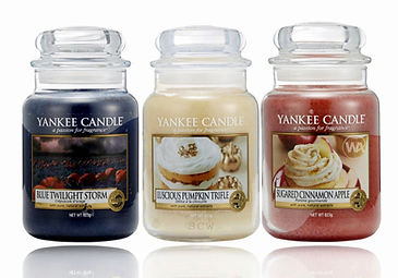 Yankee Candle 2018 USA Special UK releases include Blue Twilight Storm, Luscious Pumpkin Trifle and Sugared Cinnamon Apple