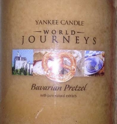 Bavarian Pretzel USA Yankee Candle Wax Crumble Pot 22g
