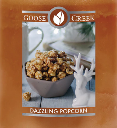 Dazzling Popcorn USA Goose Creek Wax Crumble Pot 22g