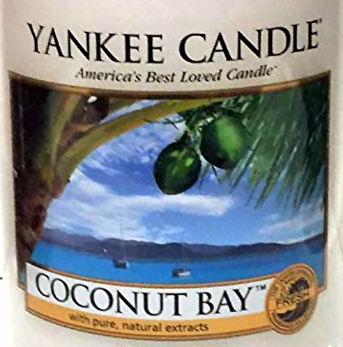 Coconut Bay USA Yankee Candle Wax Crumble Pot 22g