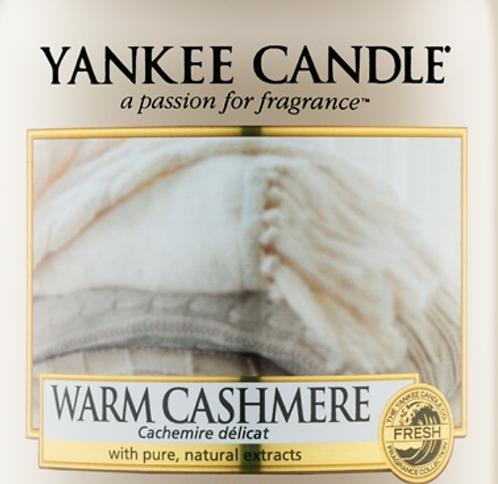 Warm Cashmere Yankee Candle Wax Crumble Pot 22g