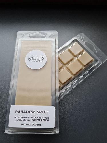 Paradise Spice Wax Melt Snap Bar by Wax Addicts