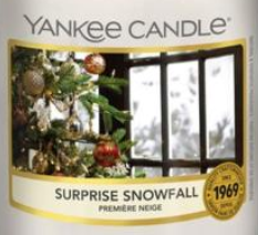 Surprise Snowfall 2020 Yankee Candle Wax Crumble Pot