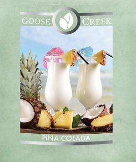 Pina Colada Goose Creek Wax Crumble Pot 22g