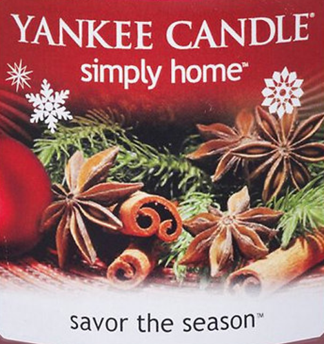 Savor The Season Yankee Candle Wax Crumble Pot 22g