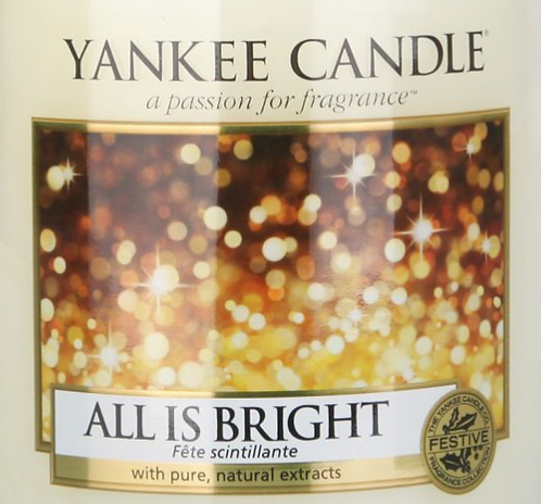 All Is Bright Yankee Candle Wax Crumble Pot 22g