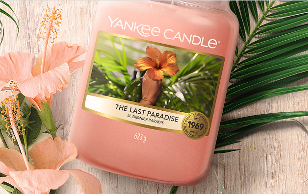 the last paradise yankee candle 2021 wax