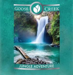 Jungle Adventure Goose Creek Wax Crumble Pot 22g