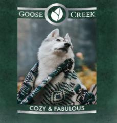 Cozy and Fabulous USA Goose Creek Wax Crumble Pot