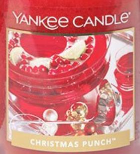 Christmas Punch USA Yankee Candle Wax Crumble Pot 22g
