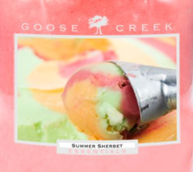 Summer Sherbet Goose Creek Wax Crumble Pot 22g
