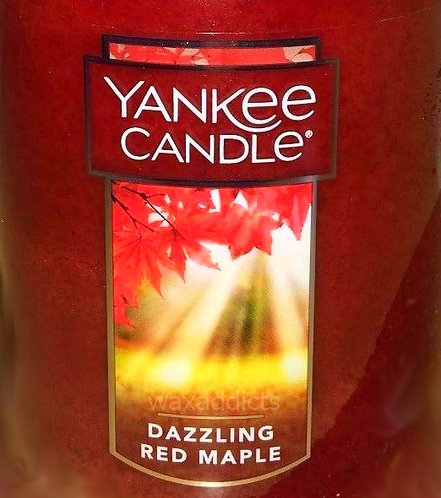 Dazzling Red Maple USA Yankee Candle Wax Crumble Pot 22g