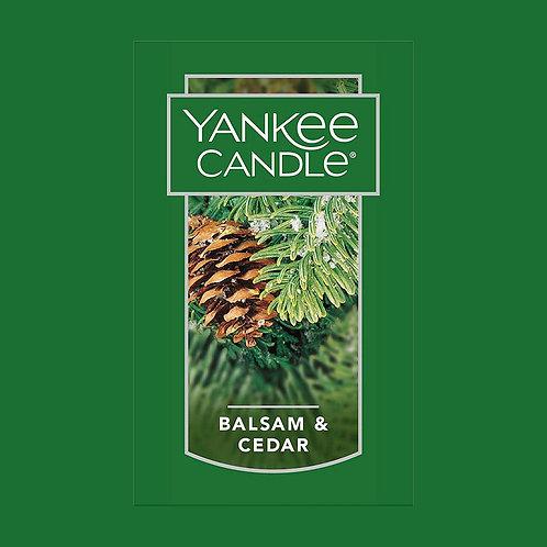 Balsam and Cedar USA Yankee Candle Wax Crumble Pot 22g
