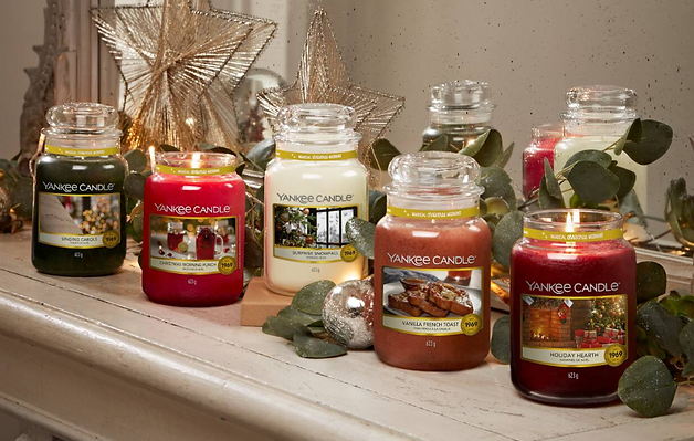 Yankee Candle magical christmas morning