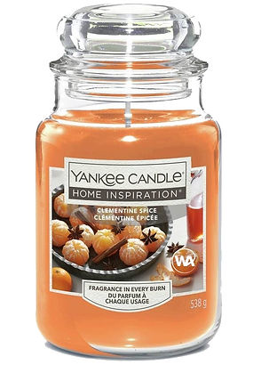 clementine spice yankee candle home insp
