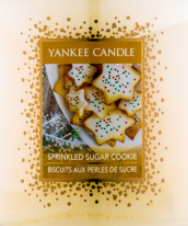 Sprinkled Sugar Cookie USA Yankee Candle Wax Crumble Pot