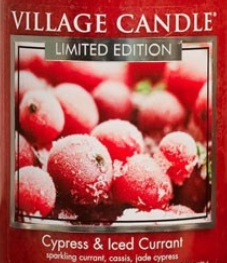 Cypress and Iced Currant USA Village Candle Wax Crumble Pot