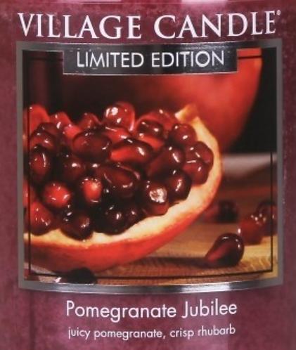 Pomegranate Jubilee Village Candle Wax Crumble Pot 22g