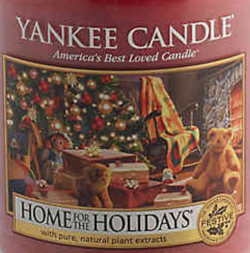 Home for the Holidays USA Yankee Candle Wax Crumble Pot