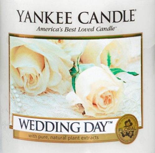 Wedding Day Yankee Candle Wax Crumble Pot
