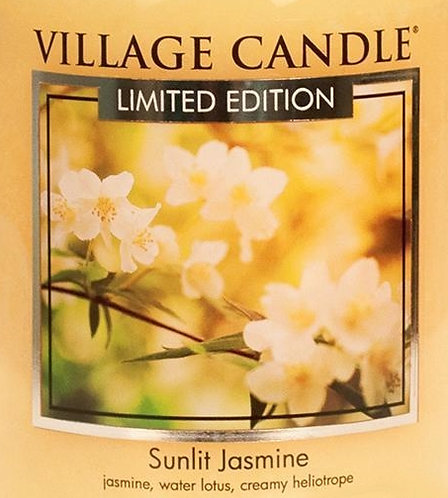 Sunlit Jasmine USA Village Candle Wax Crumble Pot