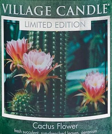 Cactus Flower USA Village Candle Wax Crumble Pot