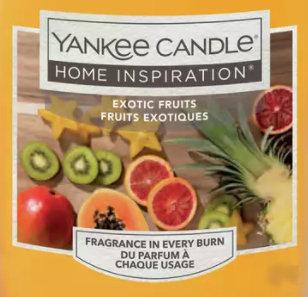 Exotic Fruits Yankee Candle Wax Crumble Pot