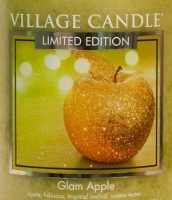 Glam Apple USA Village Candle Wax Crumble Pot