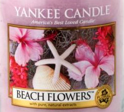 Beach Flowers USA Yankee Candle Wax Crumble Pot