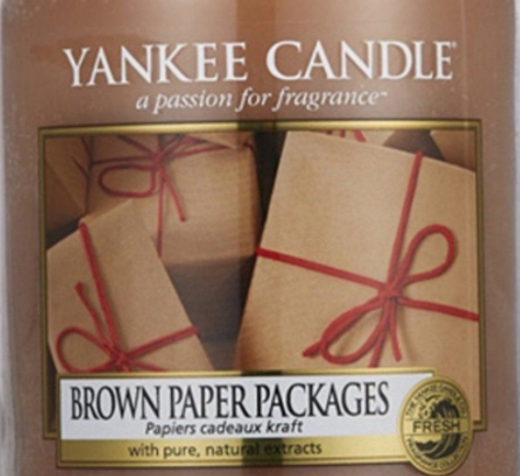 Brown Paper Packages USA Yankee Candle Wax Crumble Pot