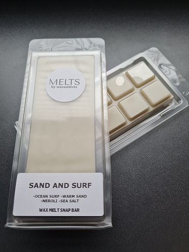 Sand and Surf Wax Melt Snap Bar by Wax Addicts