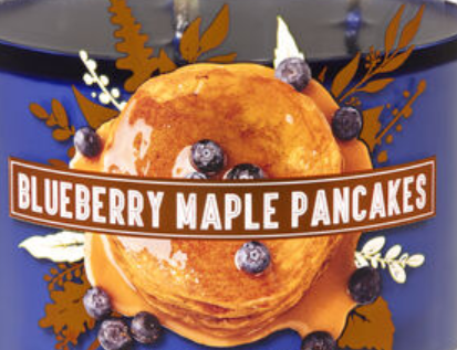 Blueberry Maple Pancakes USA Bath and Body Works Wax Crumble Pot 22g