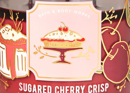 Sugared Cherry Crisp USA Bath and Body Works Wax Crumble Pot