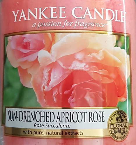 Sun-Drenched Apricot Rose Yankee Candle Wax Crumble Pot 22g
