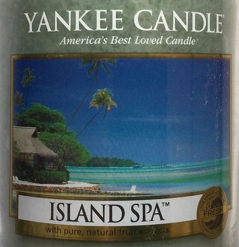 Island Spa USA Yankee Candle Wax Crumble Pot