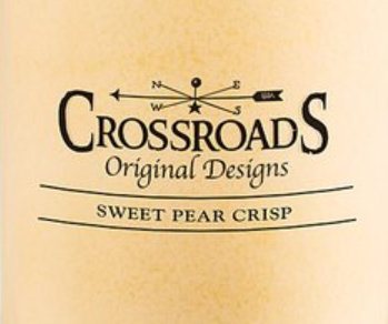 Sweet Pear Crisp USA Crossroads Wax Crumble Pot 22g