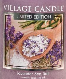 Lavender Sea Salt USA Village Candle Wax Crumble Pot
