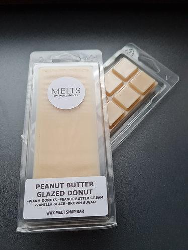 Peanut Butter Glazed Donut Wax Melt Snap Bar by Wax Addicts