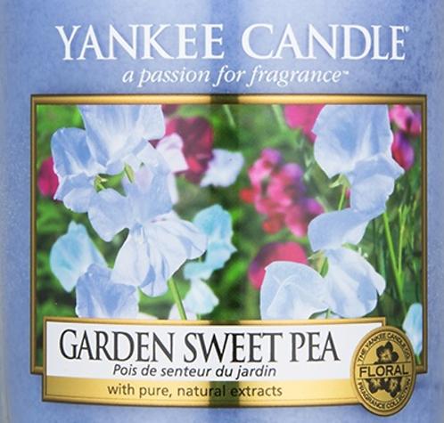 Garden Sweet Pea USA Yankee Candle Wax Crumble Pot 22g