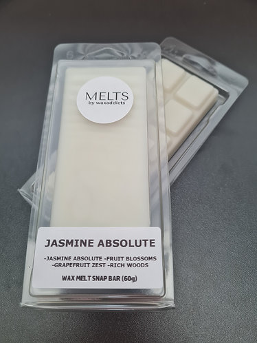 Jasmine Absolute Wax Melt Snap Bar by Wax Addicts