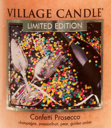Confetti Prosecco USA Village Candle Wax Crumble Pot 22g