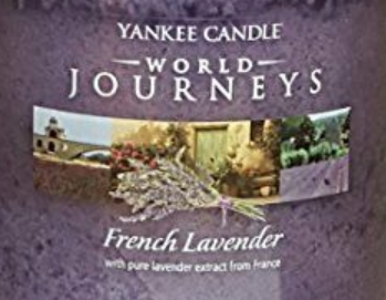French Lavender USA Yankee Candle Wax Crumble Pot