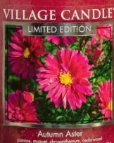 Autumn Aster USA Village Candle Wax Crumble Pot