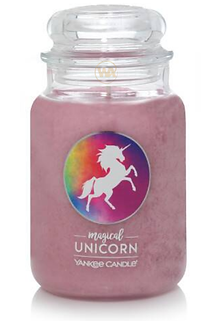 Magical Unicorn Large Classic Jar Candle