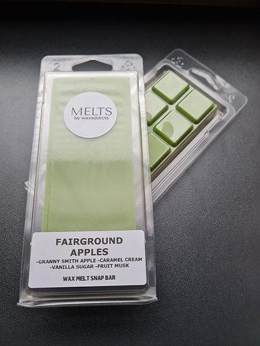 Fairground Apples Wax Melt Snap Bar by Wax Addicts