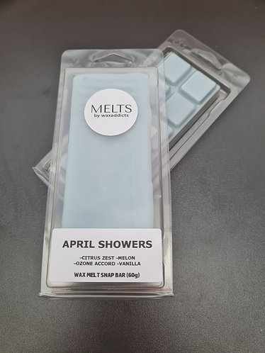 April Showers Wax Melt Snap Bar by Wax Addicts