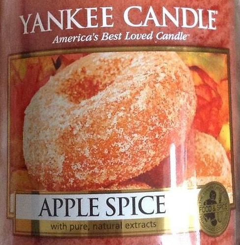 Apple Spice USA Yankee Candle Wax Crumble Pot 22g